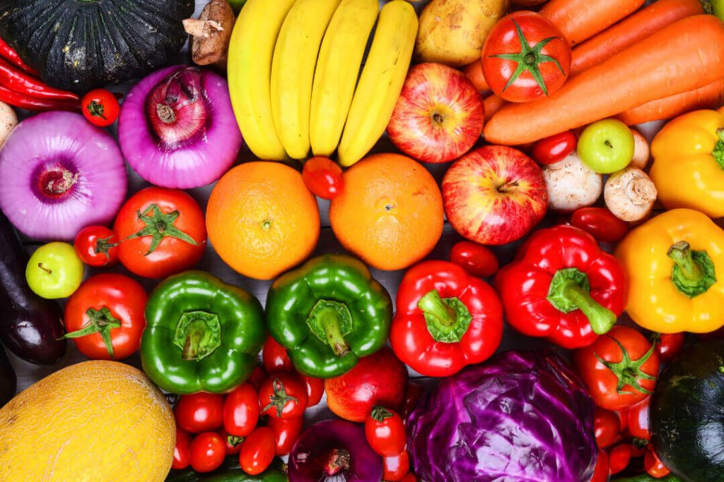 Vegetables for vitamins and minerals